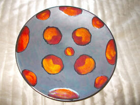 Poole pottery Galaxy charger
