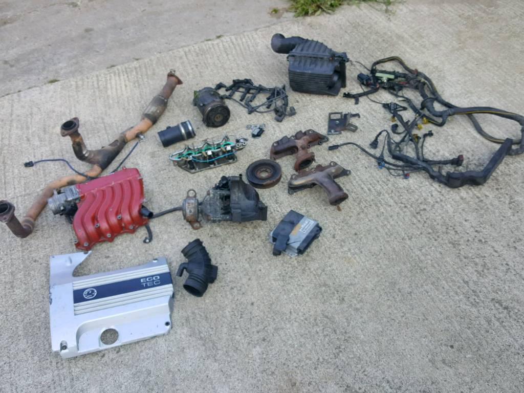 Vauxhall C25xe X30xe Parts Covers Blocks Wiring Looms Ecus In Loom Cover