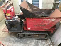 2010 Hinowa high tip tracked dumper