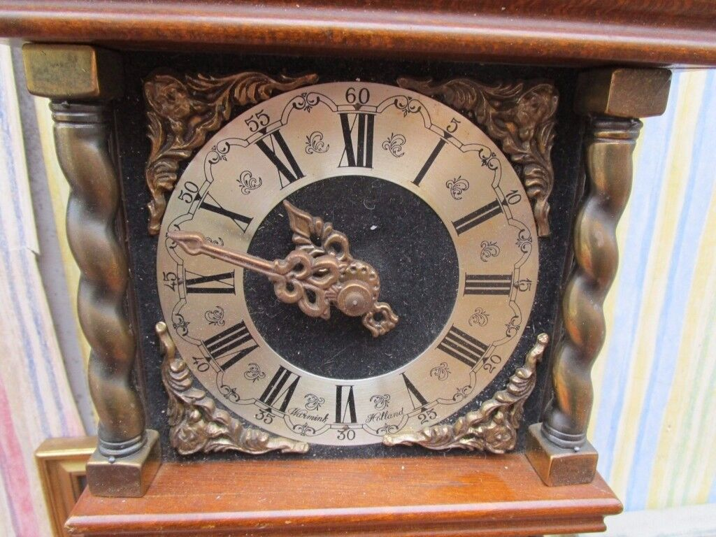 Reduced dutch vintage zandaam weight driven wall clock in reduced dutch vintage zandaam weight driven wall clock amipublicfo Images