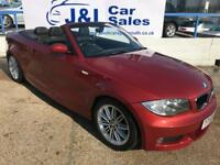 BMW 1 SERIES 2.0 118I M SPORT 2d AUTO 141 BHP A GREAT EXAMPLE INSIDE AND OUT (red) 2009