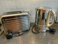 Dualit 2-slice toaster and kettle
