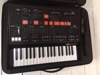 Korg Arp Odyssey with flight case & accessories