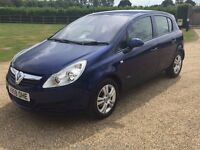 VAUXHALL CORSA 1.3 DIESEL ECO-FLEX, 1 OWNER, LONG MOT, FULL SERVICE HISTORY, GREAT CONDITION