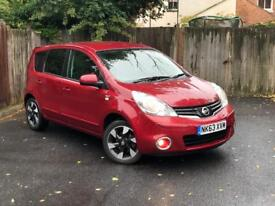 Nissan Note 2013 N-Tec+ Automatic Low Mileage Full Service History