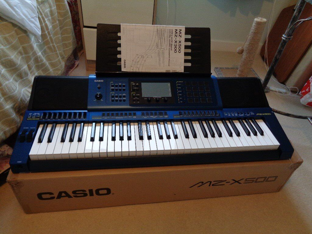 casio mz x500 keyboard synthesizer pristine unmarked in sheffield south yorkshire gumtree. Black Bedroom Furniture Sets. Home Design Ideas