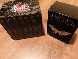 Buffy the Vampire Slayer & Angel full DVD sets and collectors items