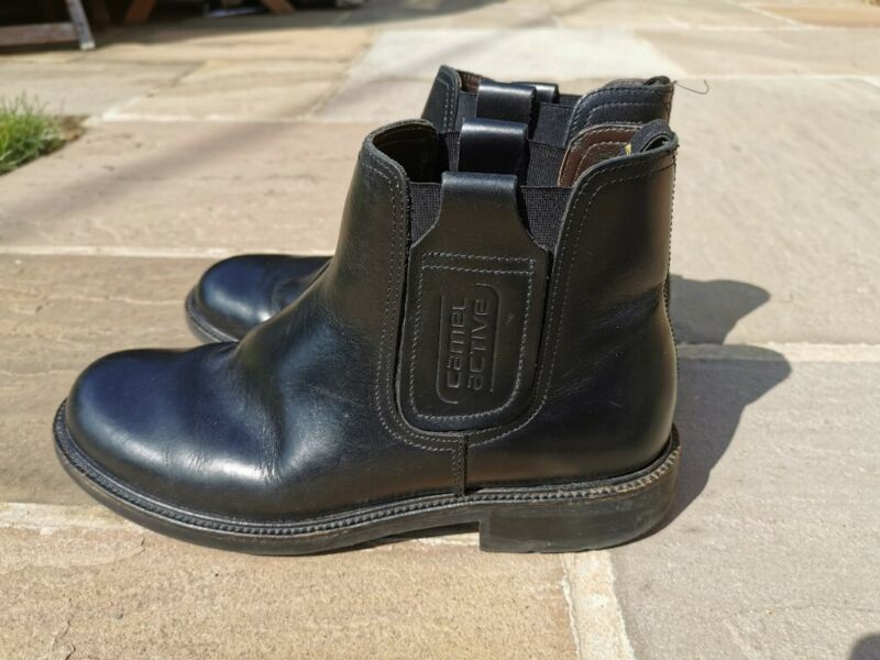 Used, FS CAMEL ACTIVE Mens Chelsea / Ankle Boot Black UK Size 9 for sale  Norwich, Norfolk