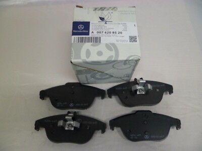 Genuine Mercedes-Benz C-Class W204 Rear Brake Pads with sensor A0074208520
