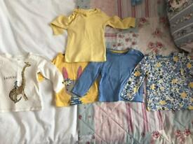 6/9 Months long sleeve top bundle from next and mothercare.