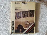 Classic Mini - Owners handbook.