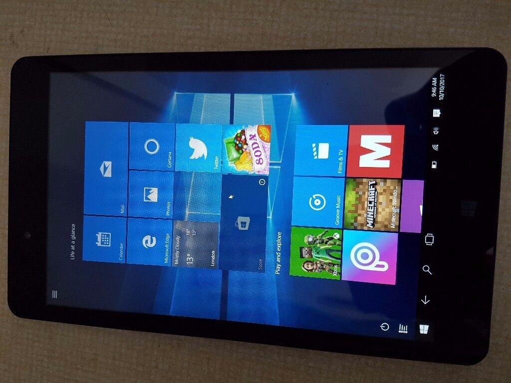 "Linx 810B 8"" IPS HD Intel Atom Quad Core 32GB 1GB Windows 10 Office HDMI Tablet"