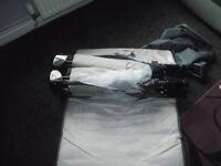 Folding travel cot
