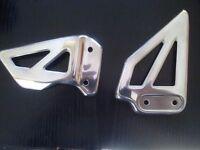 gsxr 600 750 k1 2 3 heel guards,polished