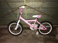 Girls bike in great condition