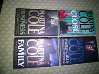 MARTINA COLE HARDBACKS