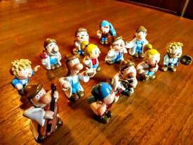 Set of Tetley Tea figures