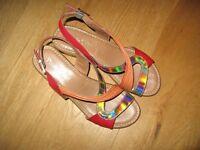 Sandals - Red Spanish