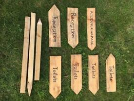 Wedding Signs and Stakes