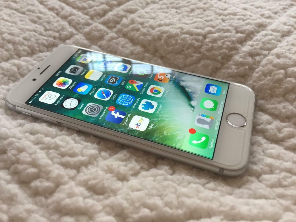 iphone 6s 32gb silver ee in eastleigh hampshire gumtree. Black Bedroom Furniture Sets. Home Design Ideas