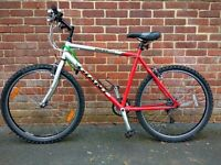 Men's Giant Boulder Sports Bike in excellent condition including air pump Lights and Lock