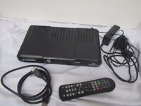 Sagem FreeSat HD DS186 Box with Remote