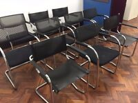 10 Office chairs - Collection for all at once!