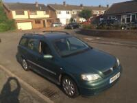 VAUXHALL ASTRA 1.6 ESTATE AUTOMATIC. LOOKS AND DRIVES THE BEST. LOW MILES.
