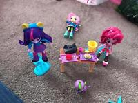 My little pony mini dolls