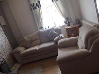 3seater sofa and a chair