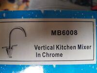 Chrome Mixer Kitchen Tap