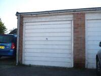 Garage to let and safe parking alongside.