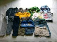 Bundle of 9-12 months boys clothing. Mostly Next