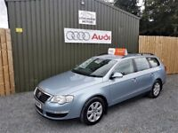 2008 VOLKSWAGEN PASSAT ESTATE 2.0 TDI SE 140, LOW MILEAGE, FULL SERVICE HISTORY, TWO OWNERS,SERVICED