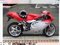 Mv agusta f4 750 cc reg 2004