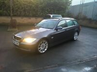 2006 BMW 320d TOURING ESTATE AUTOMATIC full history high miles