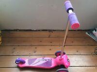 Avigo scooter pink & purple from 3 years