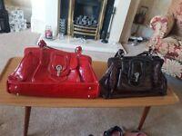 Ladies Ripani bags x2