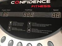 Confidence vibration plate
