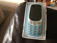 Brand new sealed in box never used Nokia 3310 with new snake game bargain £35