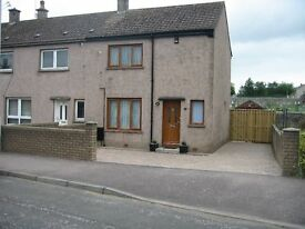 Cardenden / Bowhill. Two Bedroom End Terraced House. Off Street Parking. Fresh Decor. Enclosed Rear.