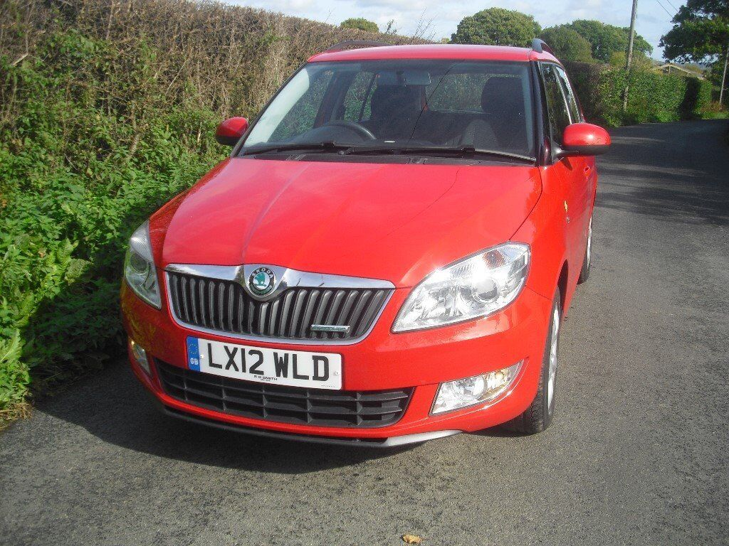 Skoda Fabia 1.7 estate, one owner from new, low mileage only 38000 miles, long MOT