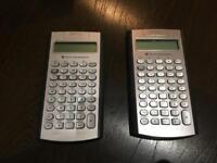 2x Texas Instruments BA II Plus for CFA exams