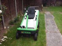 Etesia Ride on Lawn Mower