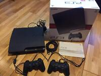 PS3, 2 controllers + 18 games