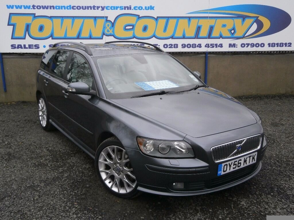 sep 2006 volvo v50 d5 se sport auto top spec full