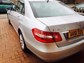 Mercedes E200 CDI BlueEFFICIENCY (1 year mot full service history)