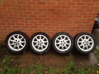 """VW Volkswagen original Alloy Wheels 15"""" - Set of 4 with Tyres"""