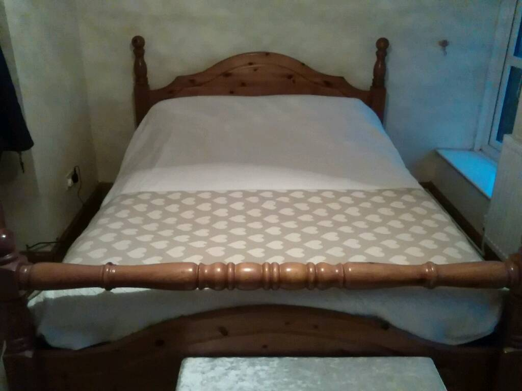 SOLD pending collection Gorgeous King size bed frame only no mattress
