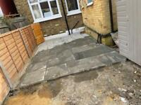 Call us for a free quote block paving,garden fencing&landscaping
